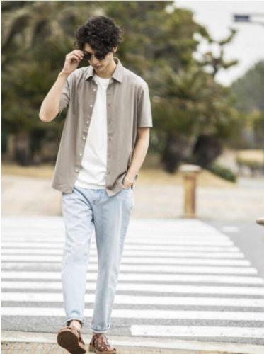ユニクロファッション:「シンプルで清潔感のある男」