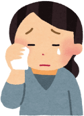 ハッピーメールを使うことに反対している泣いている親のアイコン
