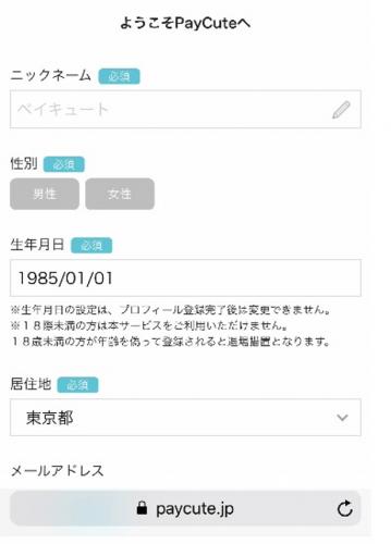 登録画面③