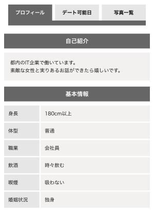 プロフィール登録・写真設定