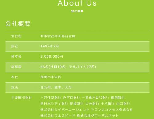 メル☆パラの運営会社